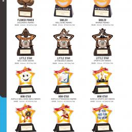School Trophies and Awards
